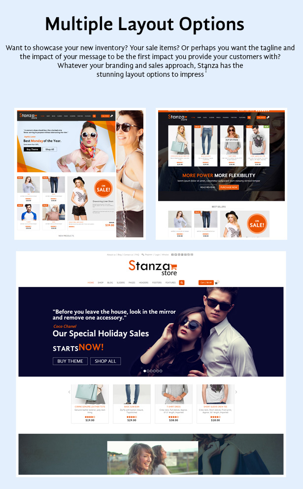 Stanza Store – Responsive eCommerce HTML 5 Template - 5