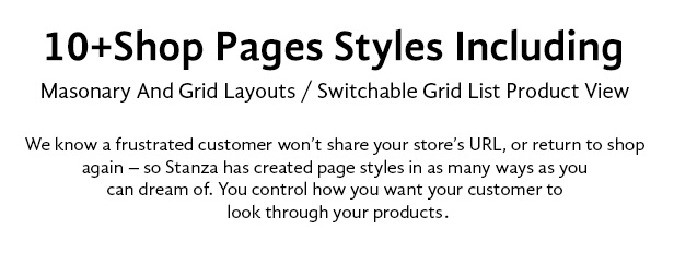 Stanza Store – Responsive eCommerce HTML 5 Template - 8