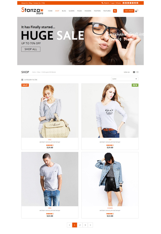 Stanza Store – Responsive eCommerce HTML 5 Template - 9