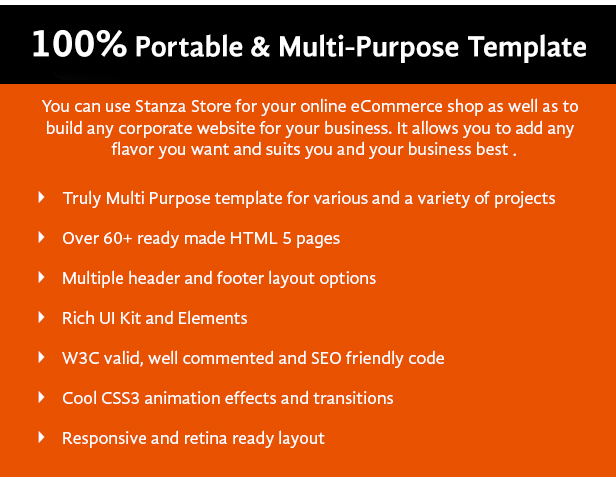 Stanza Store – Responsive eCommerce HTML 5 Template - 16