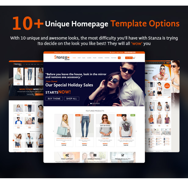Stanza Store – Responsive eCommerce HTML 5 Template - 3