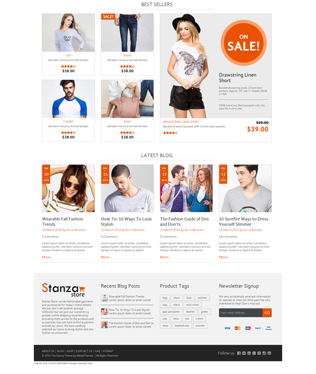 Stanza Store – Responsive eCommerce HTML 5 Template - 10